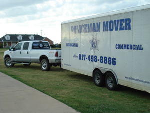 North Texas Moving Company - Dallas Movers, Fort Worth Movers, Southlake moving company,  Keller Movers, policeman movers